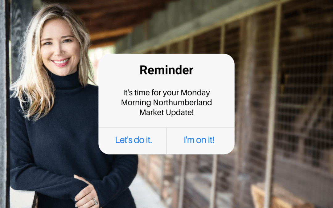 Monday Northumberland Market Update for February 16th, 2021